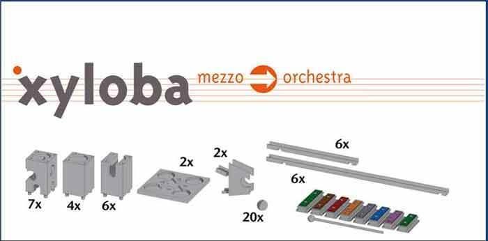 Xyloba Erweiterungskasten mezzo mezzo mezzo orchestra   Xyloba-Shop spielzeug-laedle ead015