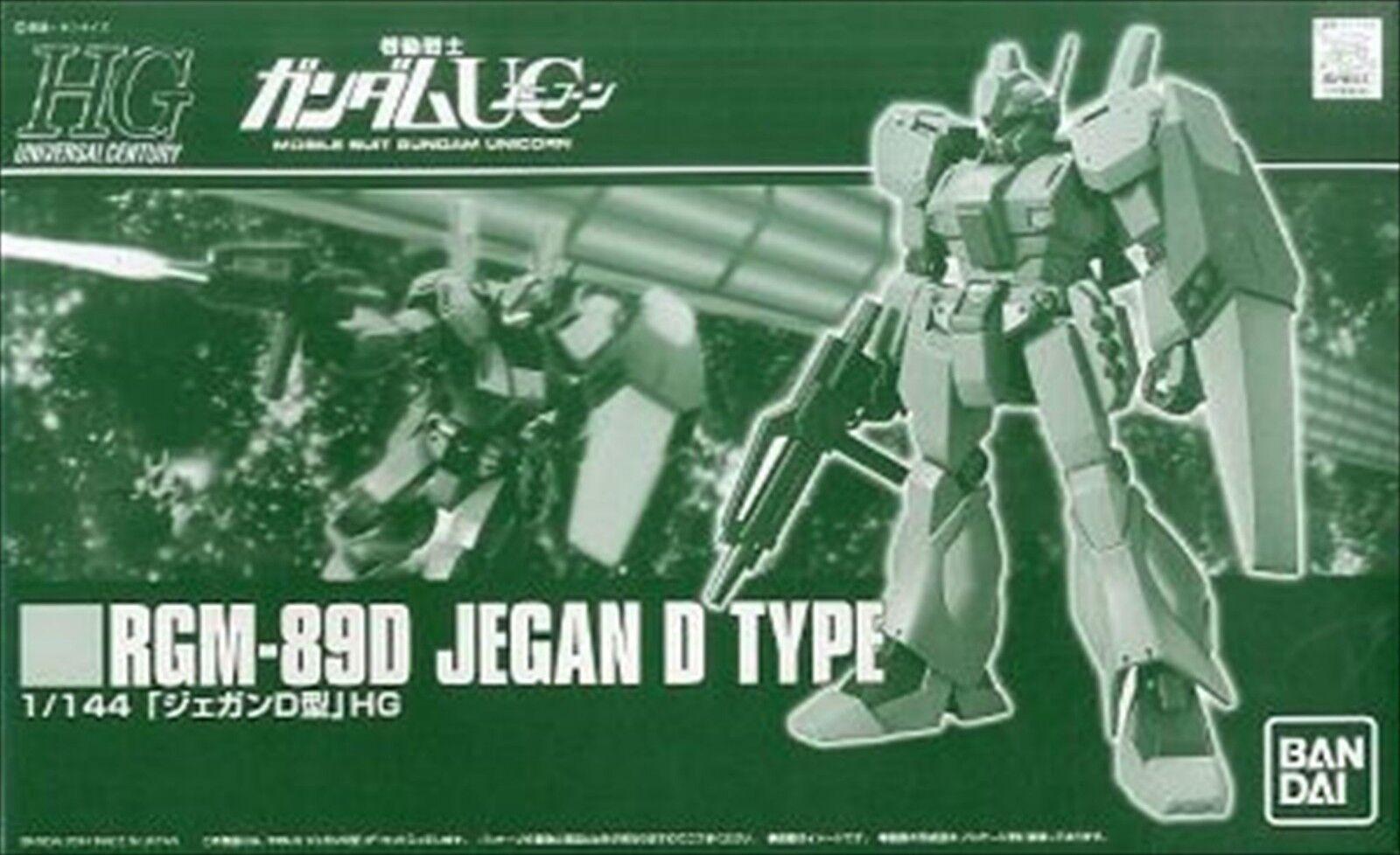 HGUC 1/144 Mobile Suit Gundam UC RGM-89D JEGAN D-type Plastic Model FROM JAPAN
