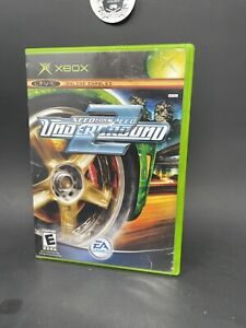 Need for Speed: Underground (Microsoft Xbox, 2004) No Manual Tested And Working