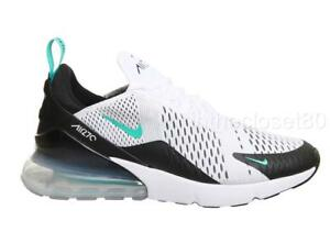 4d803f61e Nike Air Max 270 White Dusty Cactus Turquoise Black Mens Trainers ...