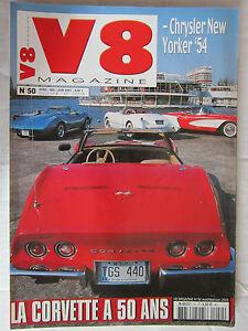 V8-N-50-CHRYSLER-NEWYORKER-039-54-CORVETTE-CHRYSLER-NEWPORT-CAB-039-67