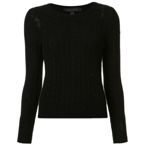$395 marc jacobs cashmere Knit Hole Sweater