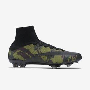 faf3409a4 Nike Mercurial Superfly SE FG 11.5 835363 300 Camo CR7 Soccer Army ...