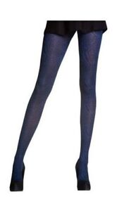 e67d16360 Image is loading Opaque-Pretty-Polly-ANIMAL-TIGHTS-INDIGO-WITH-BLACK-