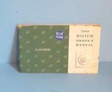 88 1988 Buick Lesabre owners manual