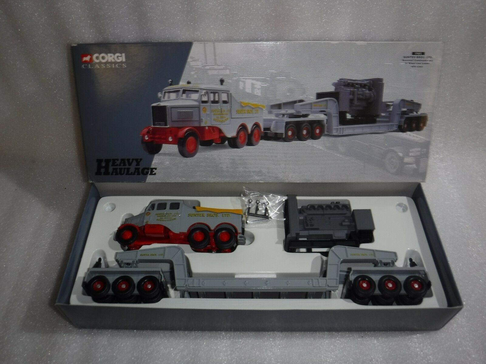 Corgi Classics 17602 Scammell Constructor + 24 Wheel Loader & Load  Mint In Box