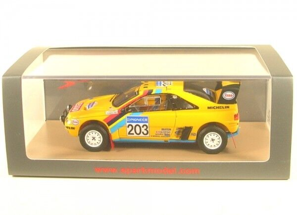 PEUGEOT 405 t16 Grand Raid no. 203 Winner Rally Parigi Dakar 1990 (A. VATANEN-B.