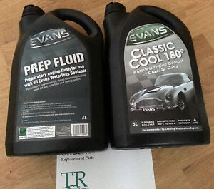 Evans-Classic-Cool-180-Waterless-Engine-Coolant-plus-Prep-Fluid-5L-of-each