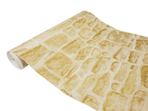Klebefolie 10€//m² Gekkofix Sandstein Yellowstone Tapete Selbstklebefolie Küche