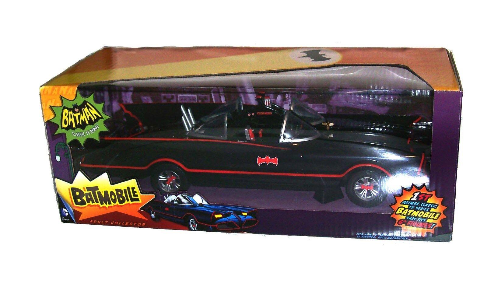 Dc comics batman klassische tv - show - reihe das batmobil auto mattel