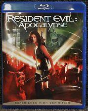 Resident Evil: Apocalypse (Blu-ray Disc) **NO SCRATCHES** Milla Jovovich