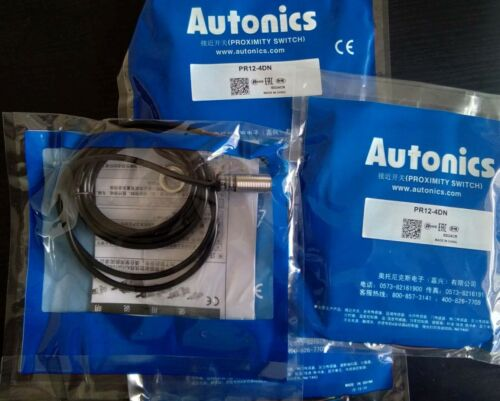 1PC New AUTONICS Proximity Sensors PR12-4DN PR124DN M12 4mm