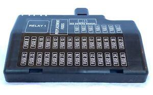 s type fuse box nib oem jaguar s type fuse box cover xr84833 ebay jaguar s type fuse box layout nib oem jaguar s type fuse box cover