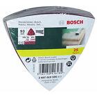 Bosch Bosc Schleifblatt-set Delta 25tlg # 2607019500