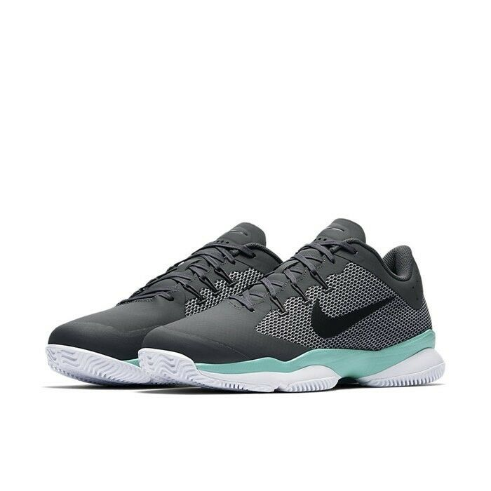 Nike Teal Mens Air Zoom Ultra Tennis Shoes Size 11 Teal Nike White Gray Black 845007-003 2740a9