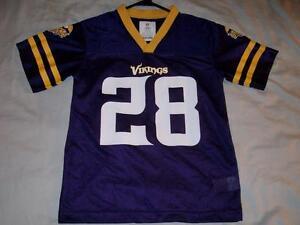 Adrian Peterson 28 Minnesota Vikings NFL Purple Football Jersey ...