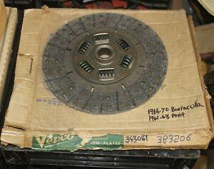 1968-1969-1970-Barracuda-1961-1962-1963-Pontiac-Rebuilt-383206-Clutch-Disc-BR