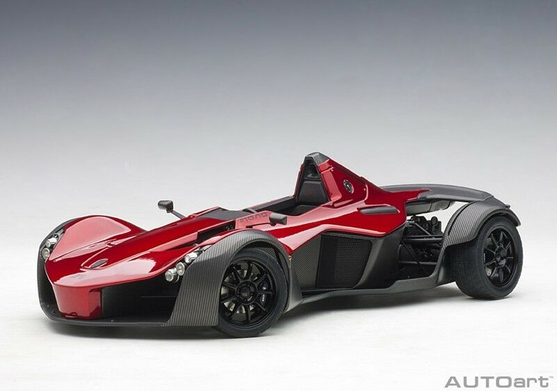 AUTOART 18119 - 1 18 Composite bac Mono (Metallic rouge) 2011 (Composite Model TRUN