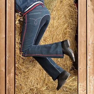 Original Kauf Finden Sie den niedrigsten Preis populäres Design Details zu HKM Kinder Jodhpur Reithose Jeans, Jodhpurreithose Georgia,  Ganzbesatz, jeans