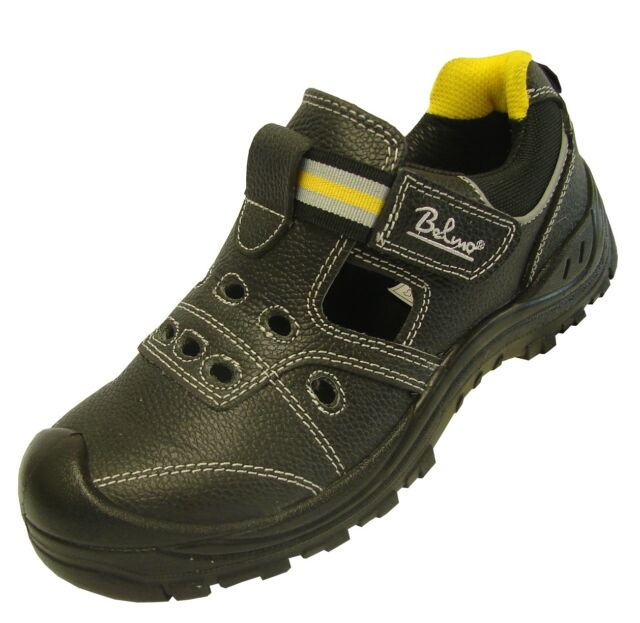 Bullstar Sicherheitssandale S1 Arbeitsschuhe Schuhe Sandalen Arbeitssandale