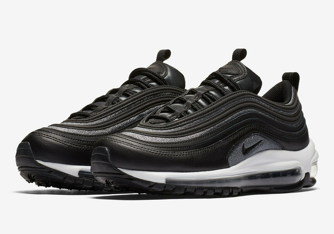 2018 WMNS Nike Air Max 97 SZ 8 Black White Grey Silver OG AT0071-002
