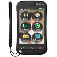 NEW BINATONE SM800 TOUCH SCREEN BIG BUTTON SIM FREE UNLOCKED BASIC MOBILE PHONE