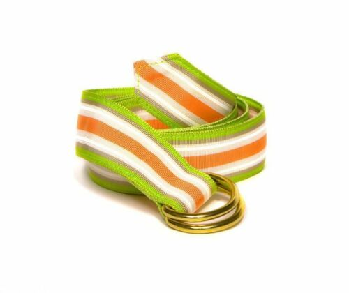 Weeper/'s Joy Striped D Ring Ribbon Belt
