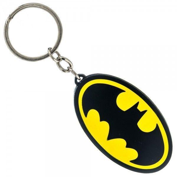 Batman Logo Metal Keychain Bat Symbol Toys Dc Comics Dark Knight