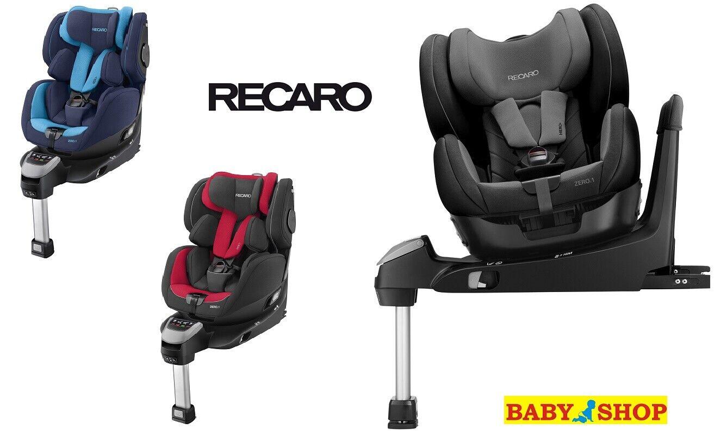 Recaro Racing Car Seat >> Car Seat Recaro Zero 1 R129 Front And Rear Facing 0 18 Kg 360 Degree Rotation