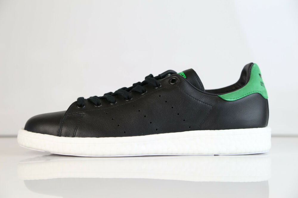Adidas Originals Stan Smith Boost Core noir Green BB0009 5-13 leather ultra rf