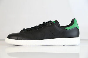 Image is loading Adidas-Originals-Stan-Smith-Boost-Core-Black-Green- 5bf0c6d5d5