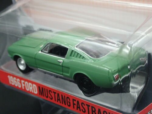 GREENLIGHT 1966 FORD MUSTANG FASTBACK STARSKY /& HUTCH HOLLYWOOD SERIES 1:64 CAR