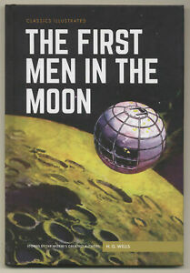 Classics-Illustrated-HC-The-First-Men-In-The-Moon-JULES-VERNE-CCS-Books
