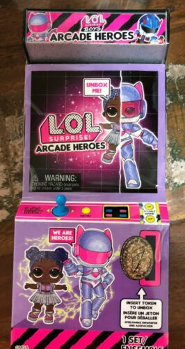 Surprise BOYS ARCADE HEROES INFINITY QUEEN STARLING LOL NEW ULTRA RARE L.O.L