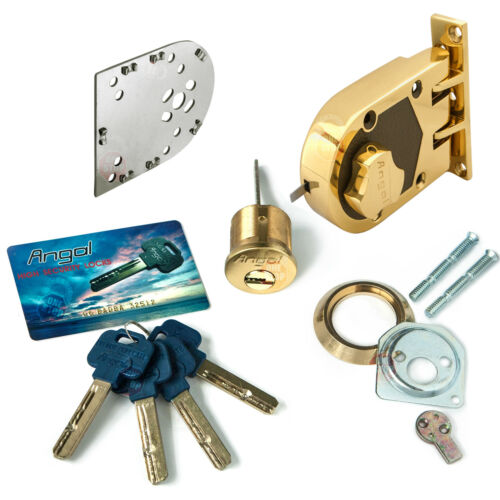 Angal High Security Jimmyproof Lock with bump//pick//drill proof cylinder