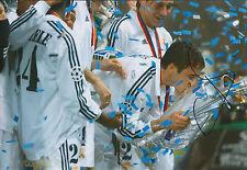 RAUL Raúl Signed Autograph 12x8 Photo AFTAL COA Real Madrid Football Great RARE