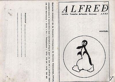 ALFRED lot de 22 numéros du 8 au 48. Etude BD 1970/1974.