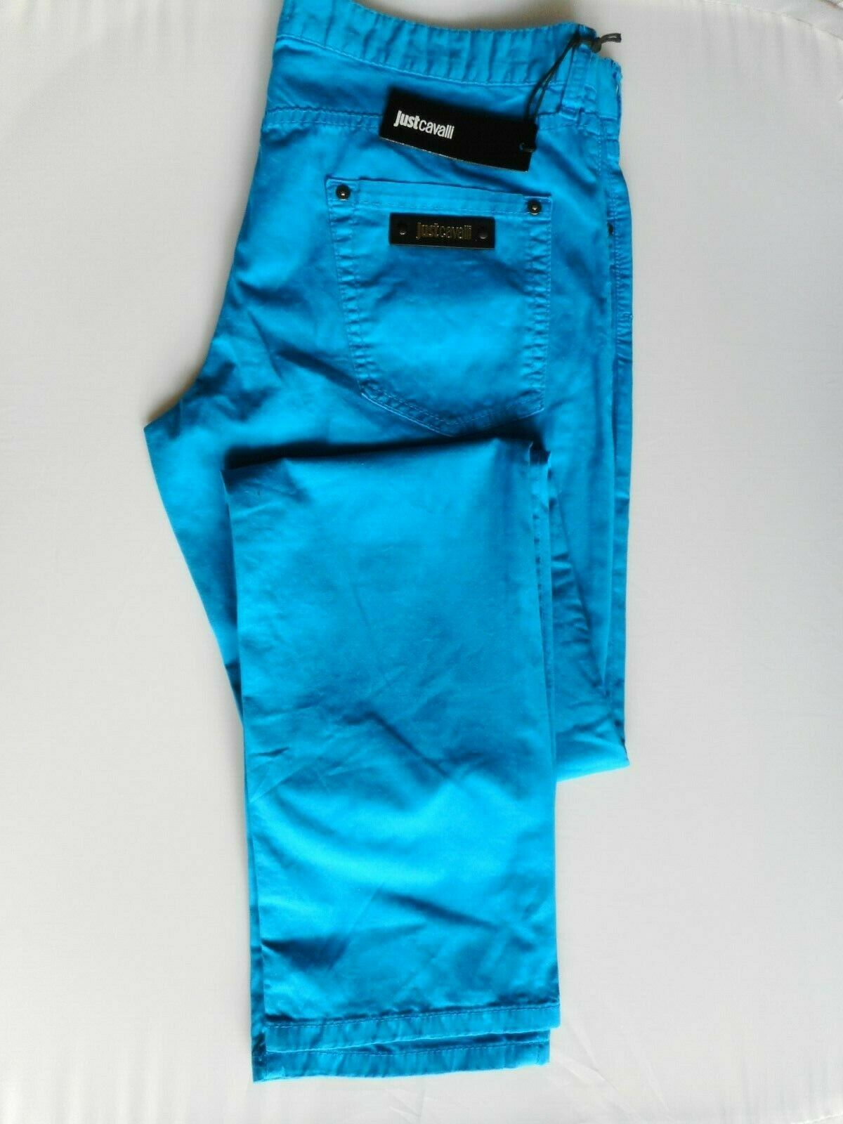 Justcavalli  Mens Trousers  Size -34  New With Tags