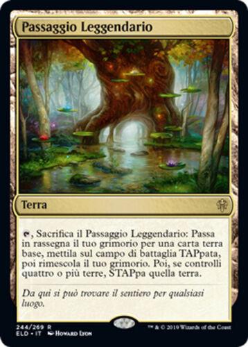 PASSAGGIO LEGGENDARIO MAGIC ELD MTG FABLED PASSAGE EXC