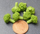 1:12 Scale 5 Broccoli Dolls House Miniature Vegetable Kitchen Accessory HW