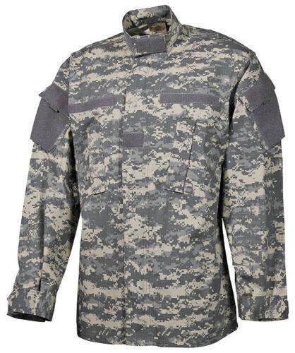 Airsoft US ACU AT Digital Feldjacke Army UCP Digi camo Rip Stop coat Jacke M Medium Funsport