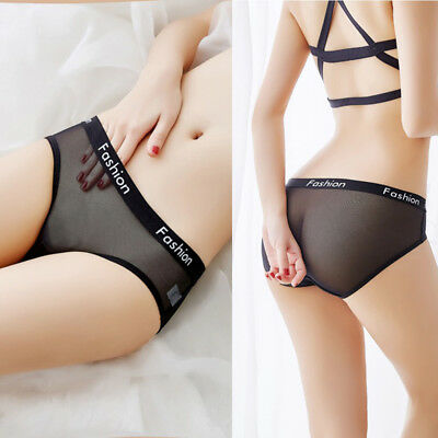 Womens Sport Fashion Breathable Knickers Thongs Briefs Panties Lingerie Party