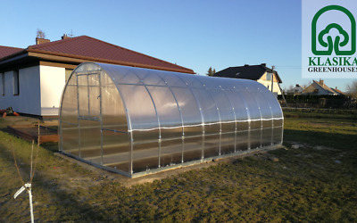 Greenhouse Plastic Cover Clear Poly Film 4year 6mil 12ft Wide X 25ft Long Greenhouse Film Plastic Film Greenhouse