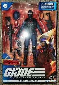 "Hasbro G I Joe Classified Series #12 - ""Cobra Island"" Cobra Trooper Target Excl."
