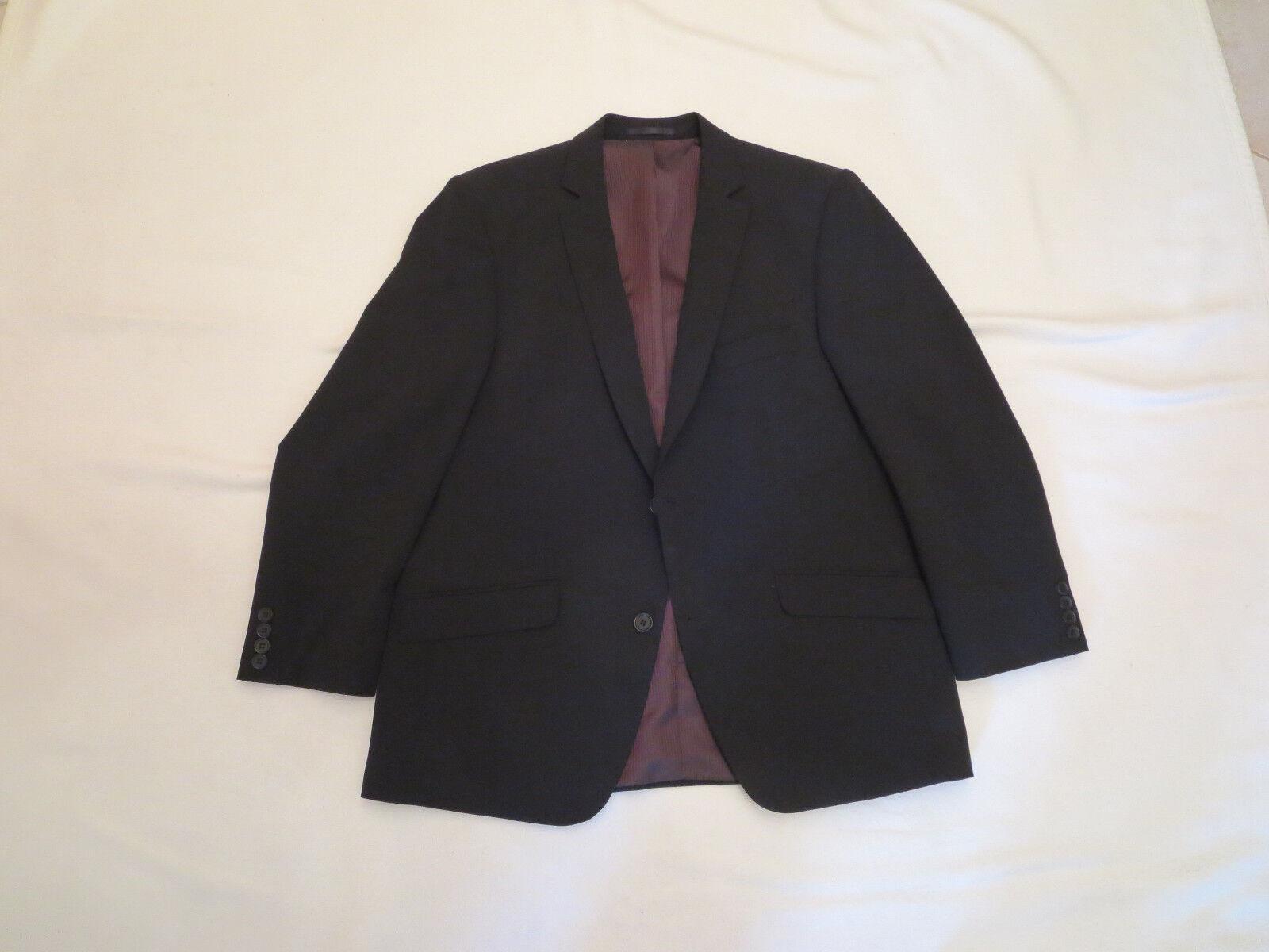 Schwarzer Anzug für Herren, Marke: Luigi Morini, Größe 24