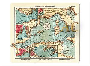 Karte Italien Frankreich.Details Zu 11270 Seekarte Westliches Mittelmeer Italien Frankreich Marine Mallorca Karte