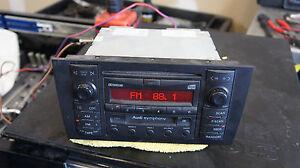 Audi A6 C5 Symphony Radio Audi A6 Cd Changer Player In Dash