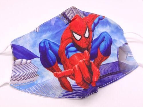 Funda paraMascarilla tela niños Fornite Frozen Spiderman reutilizable filtros