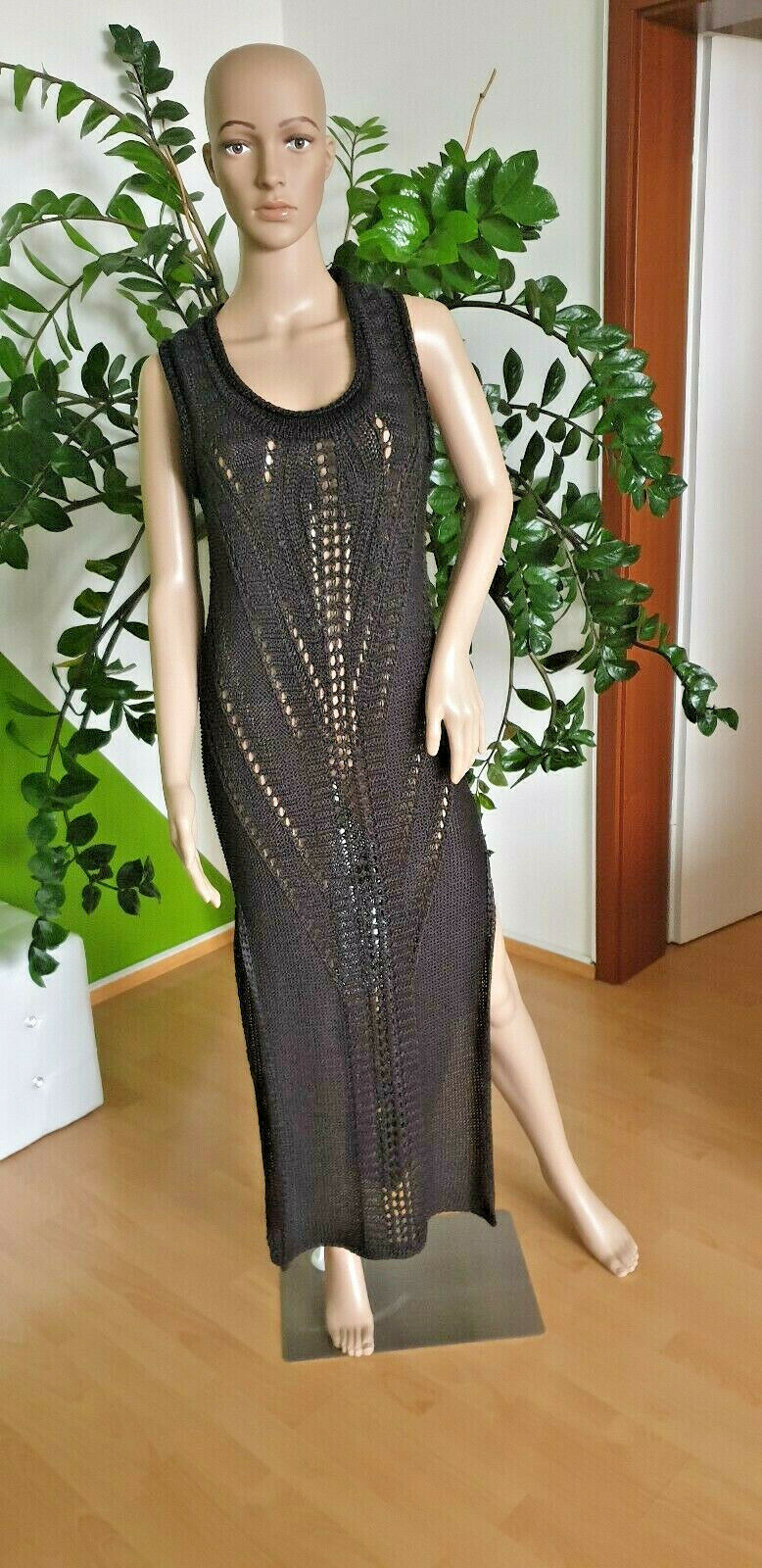 Damen Kleid Sexy Sommerkleid Urlaubskleid von Mexx Schwarz Gr.M