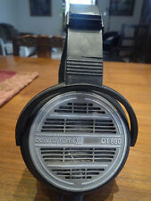 Vintage Beyerdynamic DT880 headphones 600ohm with new cable and velour ear pads